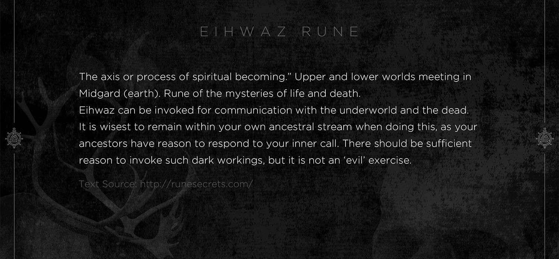 eihwaz rune, eihwaz, mythology, runes, norse runes, rune, viking, pagans, alex borisson, runes art, runes cards, cards, norse, valhalla, odin