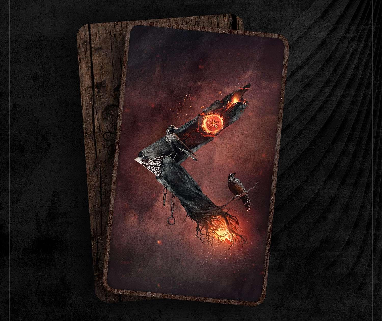 kano rune, kano, mythology, runes, norse runes, rune, viking, pagans, alex borisson, runes art, runes cards, cards, norse, valhalla, odin