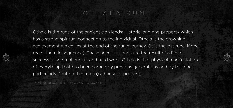 othala eune, othala, mythology, runes, norse runes, rune, viking, pagans, alex borisson, runes art, runes cards, cards, norse, valhalla, odin