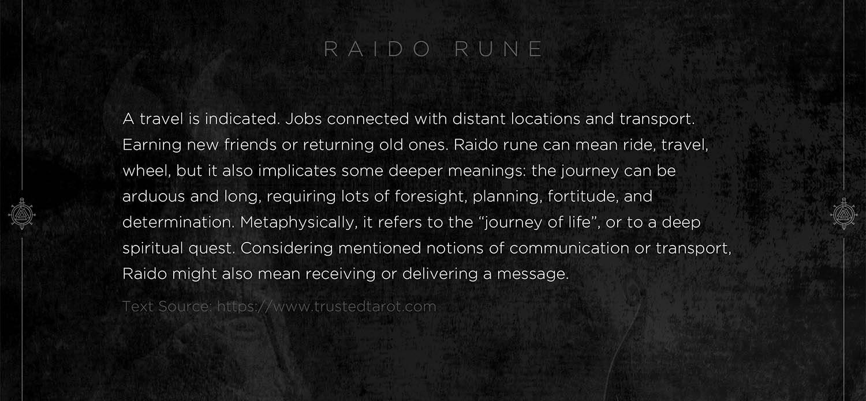 riado rune, raido, mythology, runes, norse runes, rune, viking, pagans, alex borisson, runes art, runes cards, cards, norse, valhalla, odin