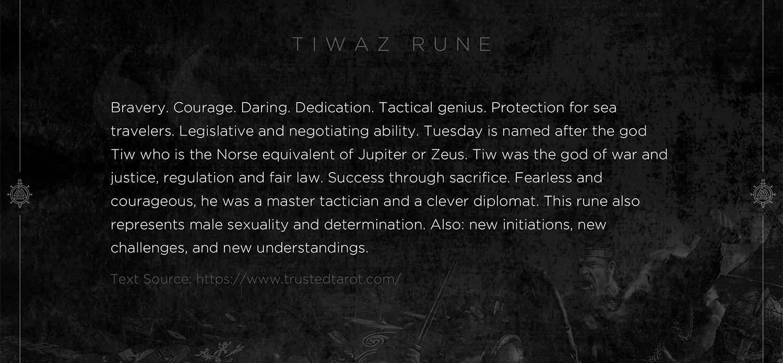 tiwaz rune, tiwaz, mythology, runes, norse runes, rune, viking, pagans, alex borisson, runes art, runes cards, cards, norse, valhalla, odin